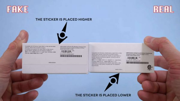 Apple Airpods Pro настоящая коробка