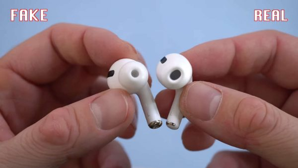 Apple Airpods Pro настоящие VS подделка
