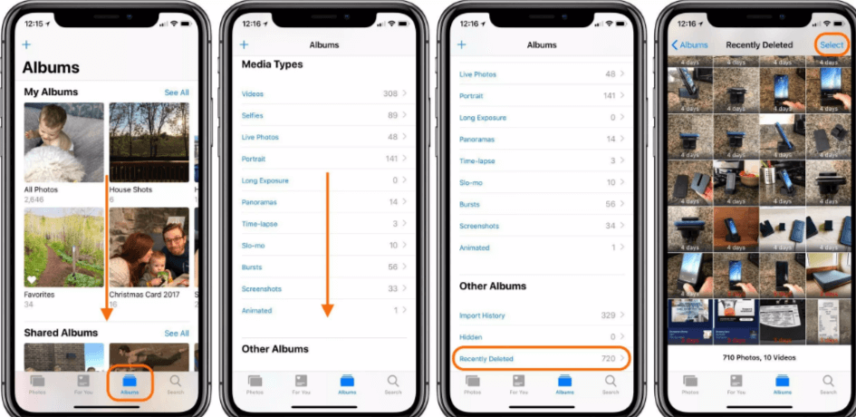 iOS 12: Как навсегда удалить фотографии с iPhone