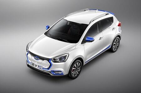 В Украине стартовали продажи нового бюджетного электромобиля JAC iEV7S